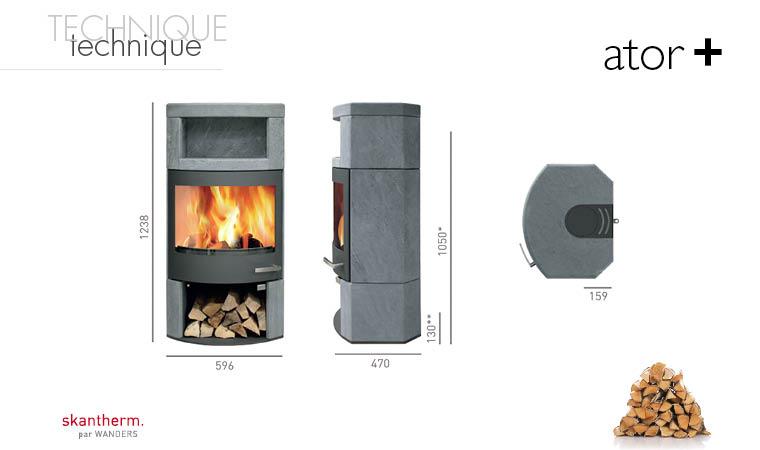 po le bois design val d 39 oise po le bois double combustion 95. Black Bedroom Furniture Sets. Home Design Ideas