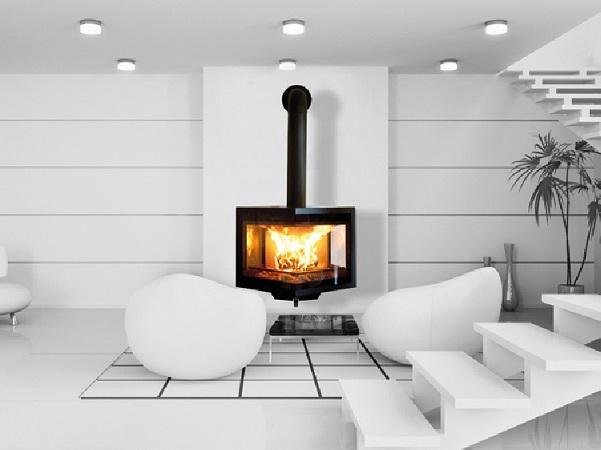 poele a bois en fonte haut rendement. Black Bedroom Furniture Sets. Home Design Ideas